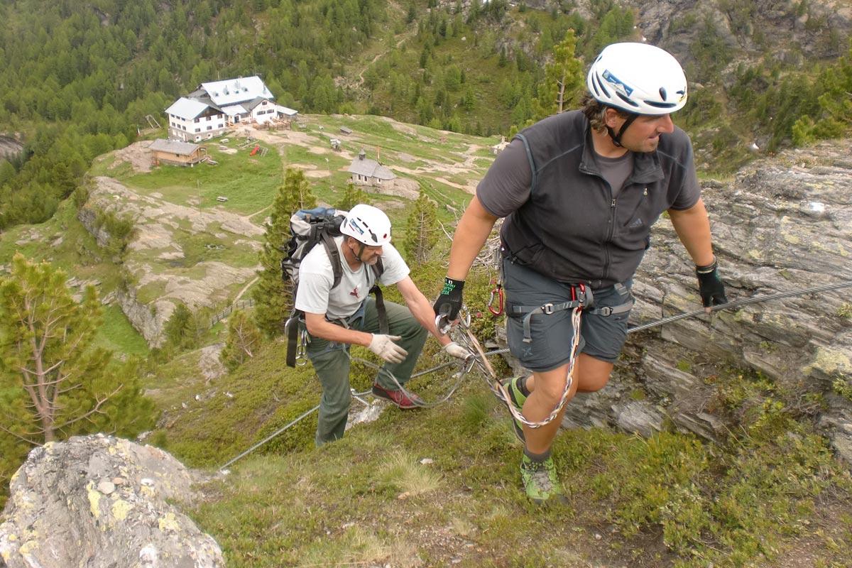 Klettersteig Vinschgau : Hoachwool klettersteig naturns südtirol vinschgau tourentipp